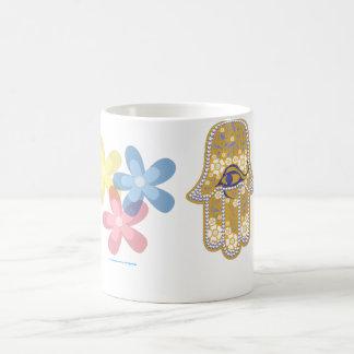 Hand of Fatima hamsa mug