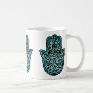 Hand of Fatima White Mug