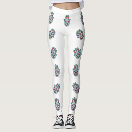 """""""HAND OF GOD"""" WHITE LEGGINGS """"PERFECT"""" REDUCED"""