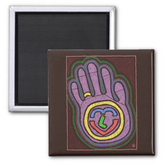HAND OF LOVE REFRIGERATOR MAGNET