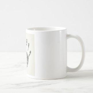 Hand office coffee mug