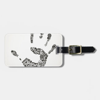 Hand office luggage tag
