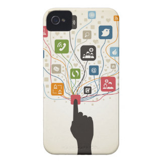 Hand on the button Case-Mate iPhone 4 cases