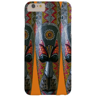 Hand Painted African Tribal Mask Barely There iPhone 6 Plus Case