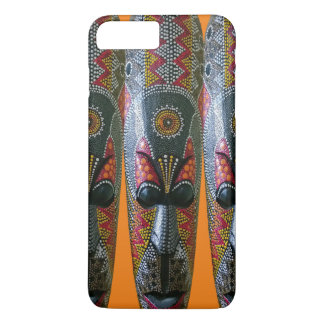 Hand Painted African Tribal Mask iPhone 7 Plus Case