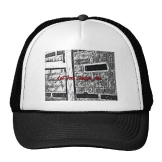 Hand painted Brick Trucker Hat