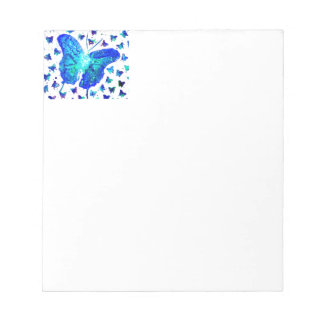 Hand Painted Butterfly Notepad