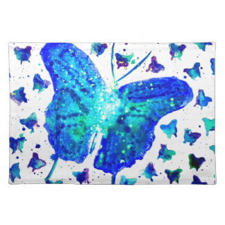 Hand Painted Butterfly Placemat