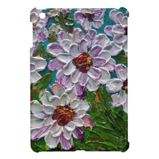 Hand painted Dahlia flowers Cover For The iPad Mini