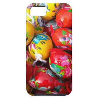 Hand-painted-Easter-eggs iPhone 5 Cases