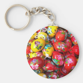 Hand-painted-Easter-eggs Keychain