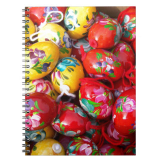 Hand-painted-Easter-eggs Notebooks