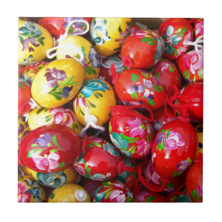 Hand-painted-Easter-eggs Tile