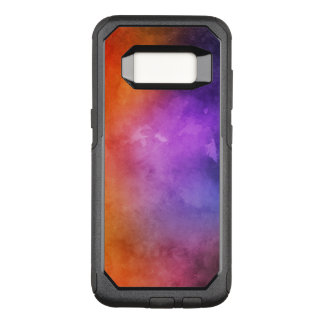 Hand painted watercolor textures OtterBox commuter samsung galaxy s8 case