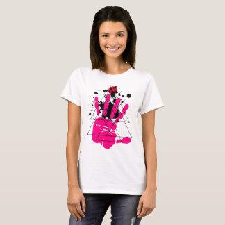 Hand Print T-Shirt Design.