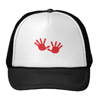 Hand Prints Trucker Hat