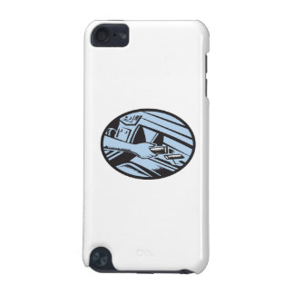 Hand Reaching in Glove Box for Energy Bar Oval Woo iPod Touch 5G Covers