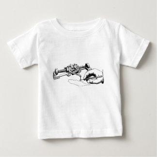 Hand Repairing Old Device Baby T-Shirt