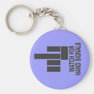 hand signals keychain