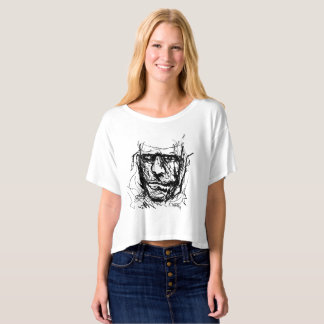 Hand sketch by Kevin Haring T-shirt