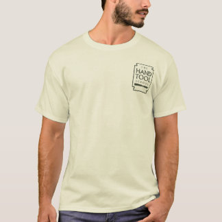 Hand Tool School Pocket Logo and QR code T-Shirt