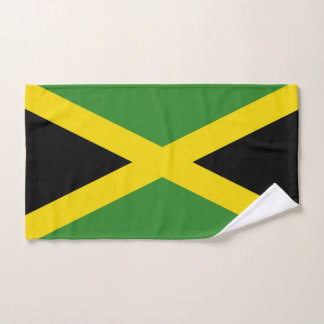 Hand Towel with Flag of Jamaica