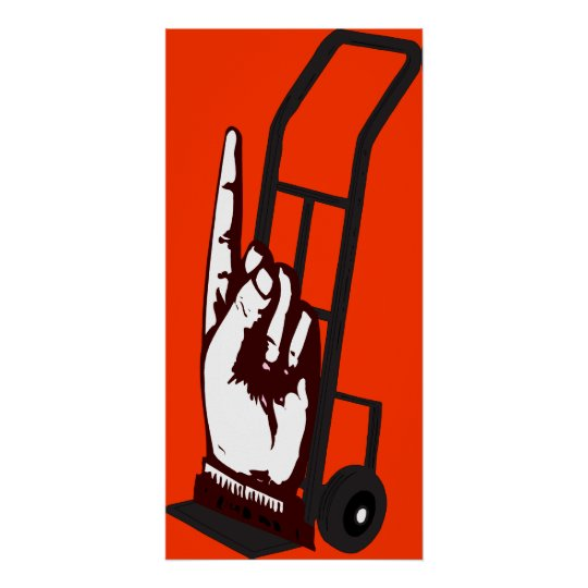 Hand Truck Poster