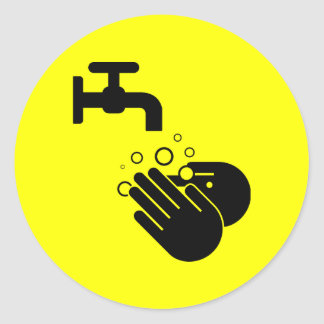 Hand Wash sticker