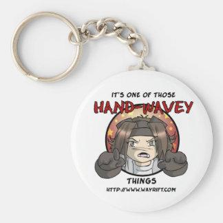 Hand-Wavey Keychain