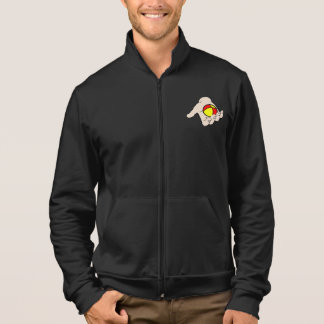Hand With Juggling Ball Mens Jacket