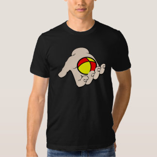 Hand With Juggling Ball Mens T-Shirt