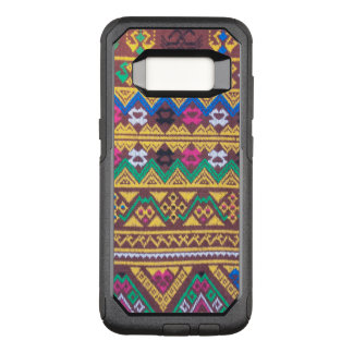 Hand Woven Thai Silk Pattern OtterBox Commuter Samsung Galaxy S8 Case