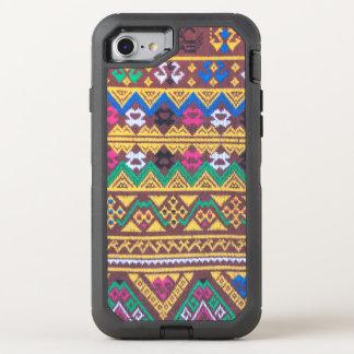 Hand Woven Thai Silk Pattern OtterBox Defender iPhone 8/7 Case