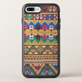 Hand Woven Thai Silk Pattern OtterBox Symmetry iPhone 8 Plus/7 Plus Case