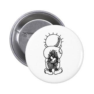 Handala 2 Inch Round Button