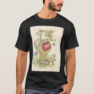 HandApple2Big, Take A Bite   Of MyForbidden Fruit T-Shirt