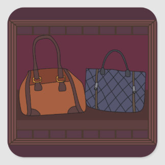 Handbag Boutique Storefront Stickers