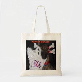 Handbag German Shepherd Halloween Boo