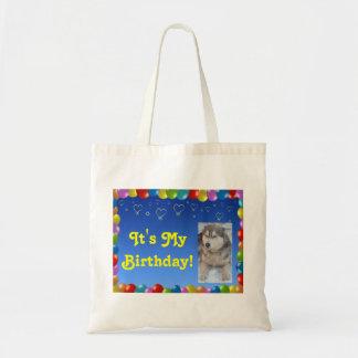 Handbag It's My Birthday With Husky