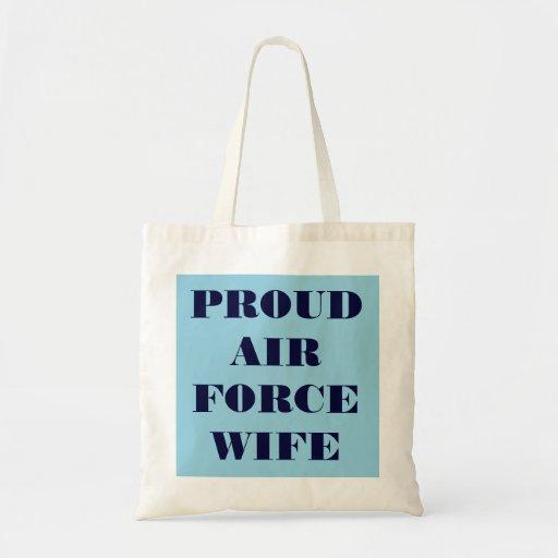 Handbag Proud Air Force Wife Bag