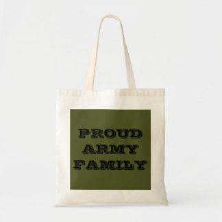 Handbag Proud Army Family Tote Bags