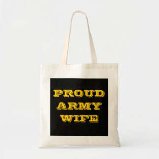 Handbag Proud Army Wife Bag