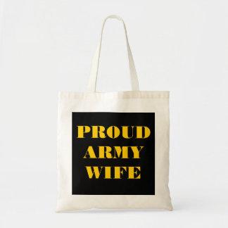 Handbag Proud Army Wife