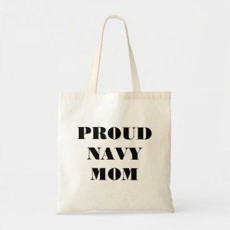 Handbag Proud Navy Mom Canvas Bags