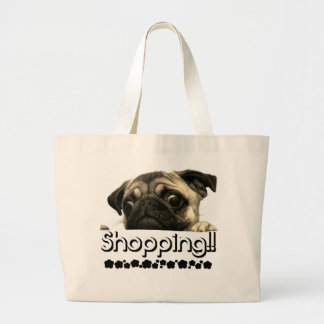 Handbag Pug Girls Ecofriendly fashion bag Summer