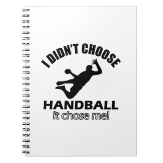 HANDBAL DESIGNS NOTEBOOKS