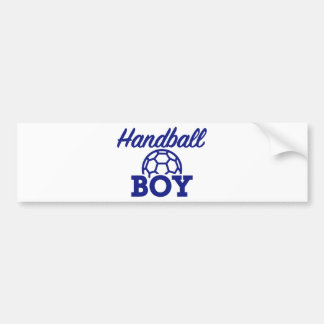 Handball boy bumper sticker