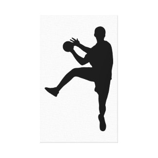 Handball Canvas Print