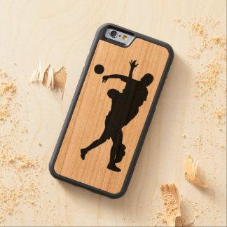 Handball Carved Cherry iPhone 6 Bumper Case