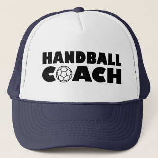 Handball coach trucker hat
